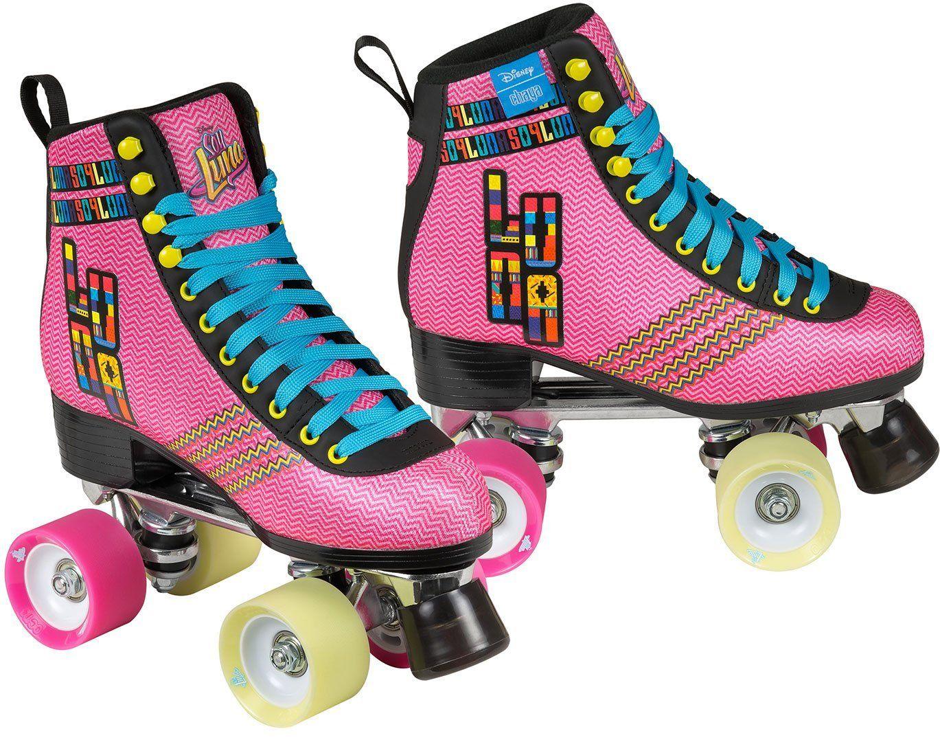 63b40defe16 Disney Soy Luna -''Mexicana'' Rollerskates from Chaya Brand! #chaya  #rollerskates #quads #itstime #soyluna #disney #vintage #retro #style # fashion #disney