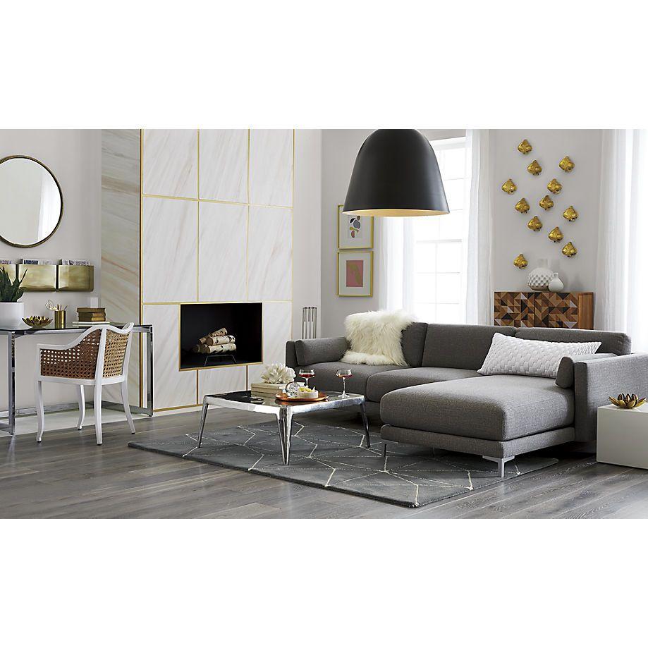 Charmant District 2 Piece Sectional Sofa   CB2. Sofa IdeasSofa DesignLiving ...