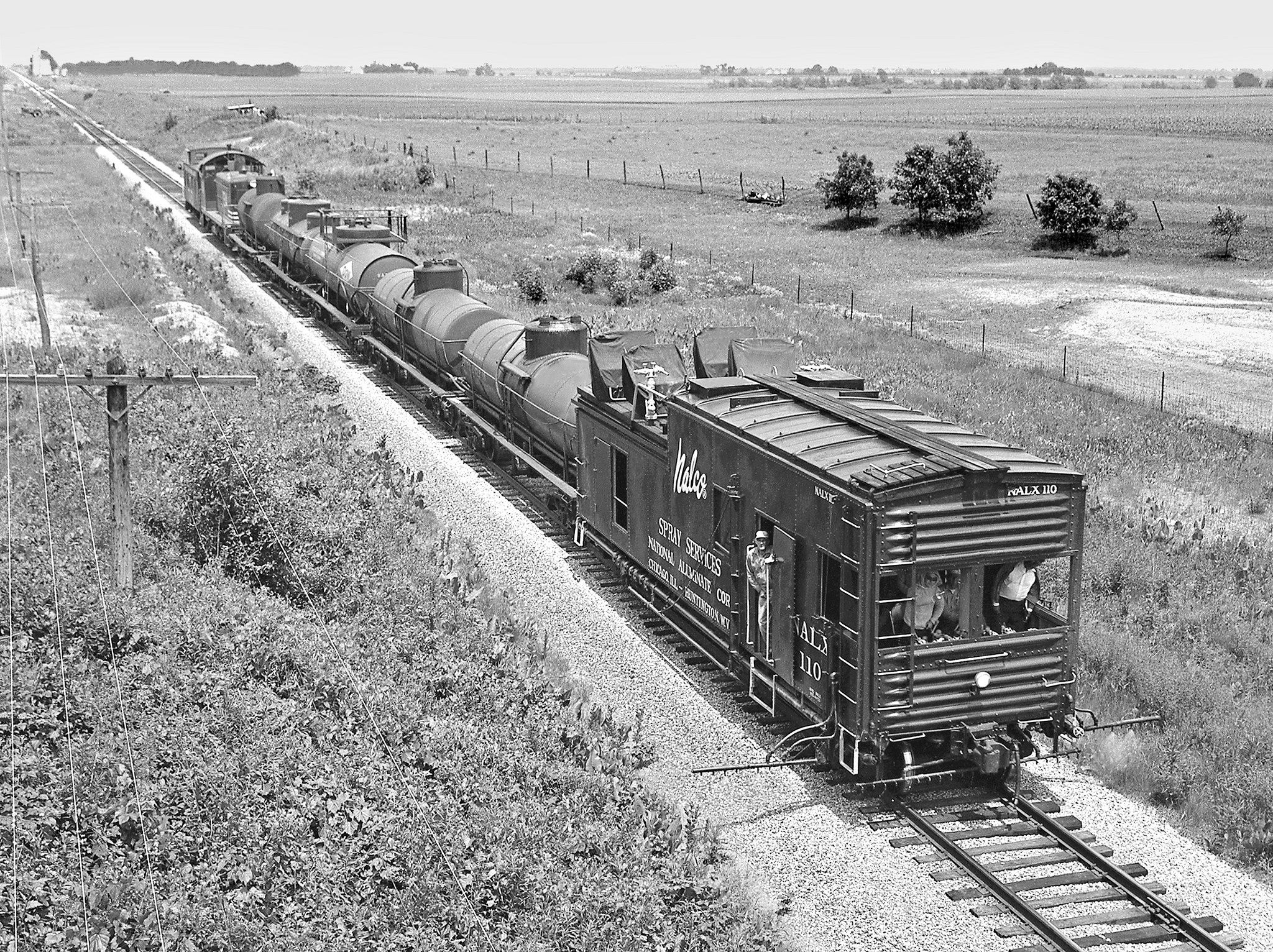 C&EI, Glover, Illinois, 1959 Chicago & Eastern Illinois Railroad ...