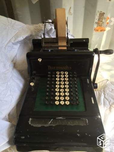superbe caisse enregistreuse ancienne collection haute. Black Bedroom Furniture Sets. Home Design Ideas
