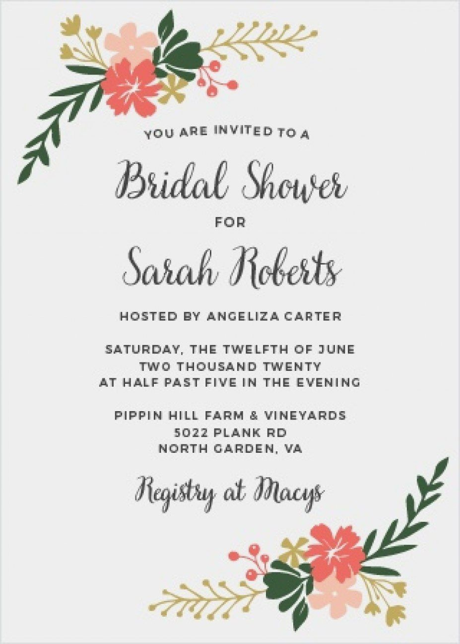 Garden Party Bridal Shower Invitations In 2020 Bridal Shower Invitations Garden Party Bridal Shower Bridal Shower Flowers