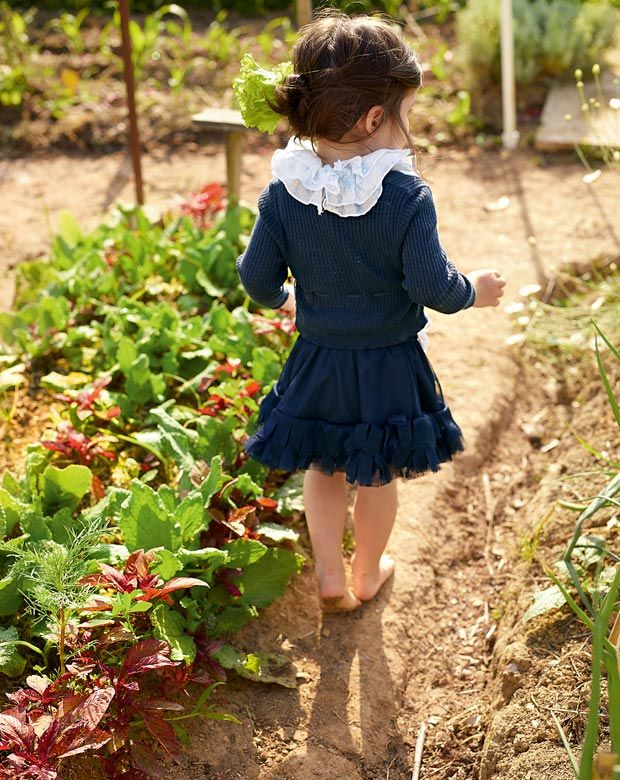 this is what I want my children to experience barefoot in the garden...the simple life