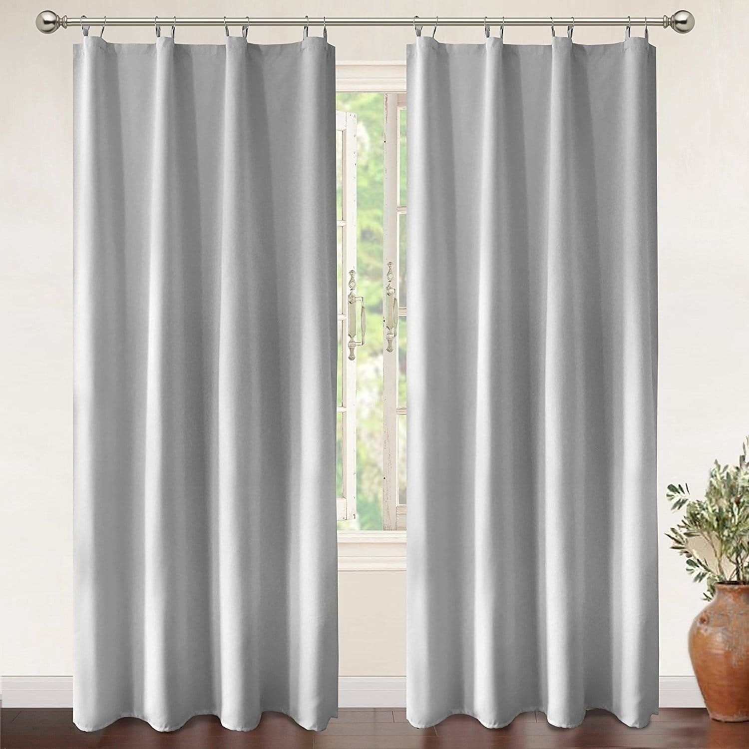 Driftaway Insulated Blackout Curtain Liner For Grommet Curtains 96