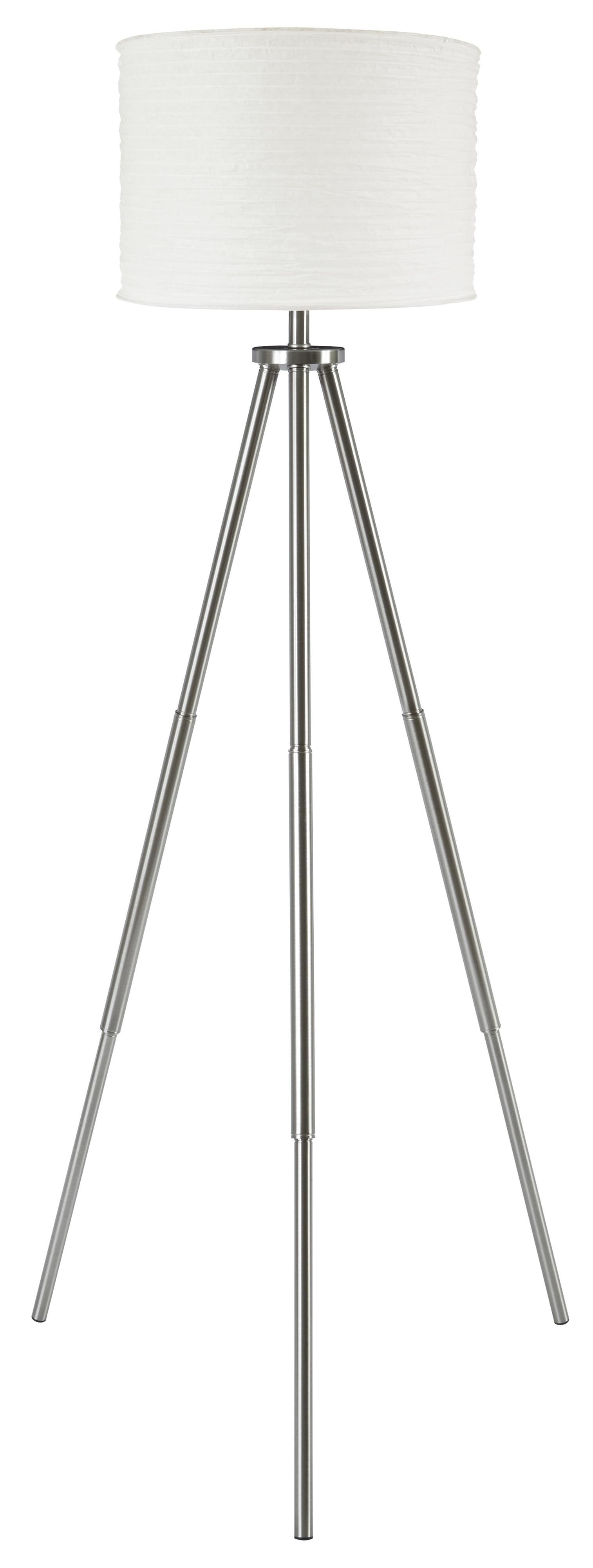 Lamps - Contemporary Susette Metal Floor Lamp by Signature Design by Ashley