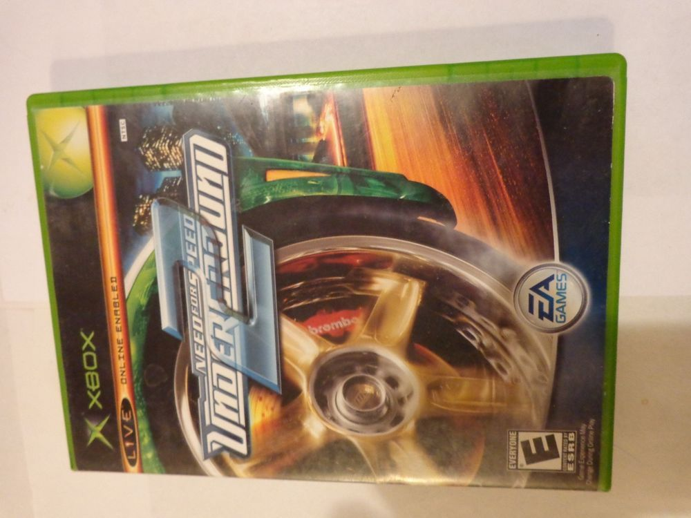 Need For Speed Underground 2 Original Microsoft Xbox System