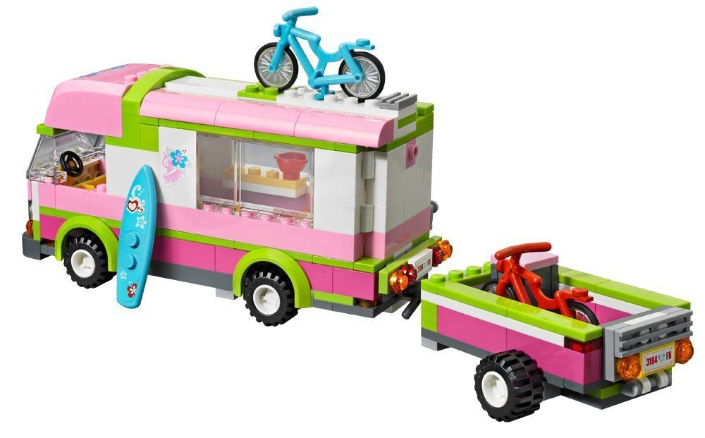 lego friends 3184 jeu de construction le camping car lego friends jeux et. Black Bedroom Furniture Sets. Home Design Ideas