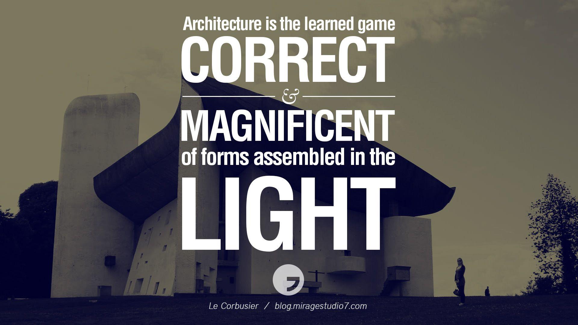 Interior Design Quotes Architecturearchitectquotesfamous05 1920×1080  Quotes