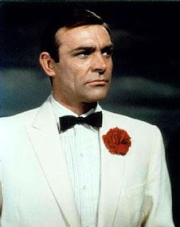 The White Dinner Jacket Sean Connery James Bond Sean Connery White Tux