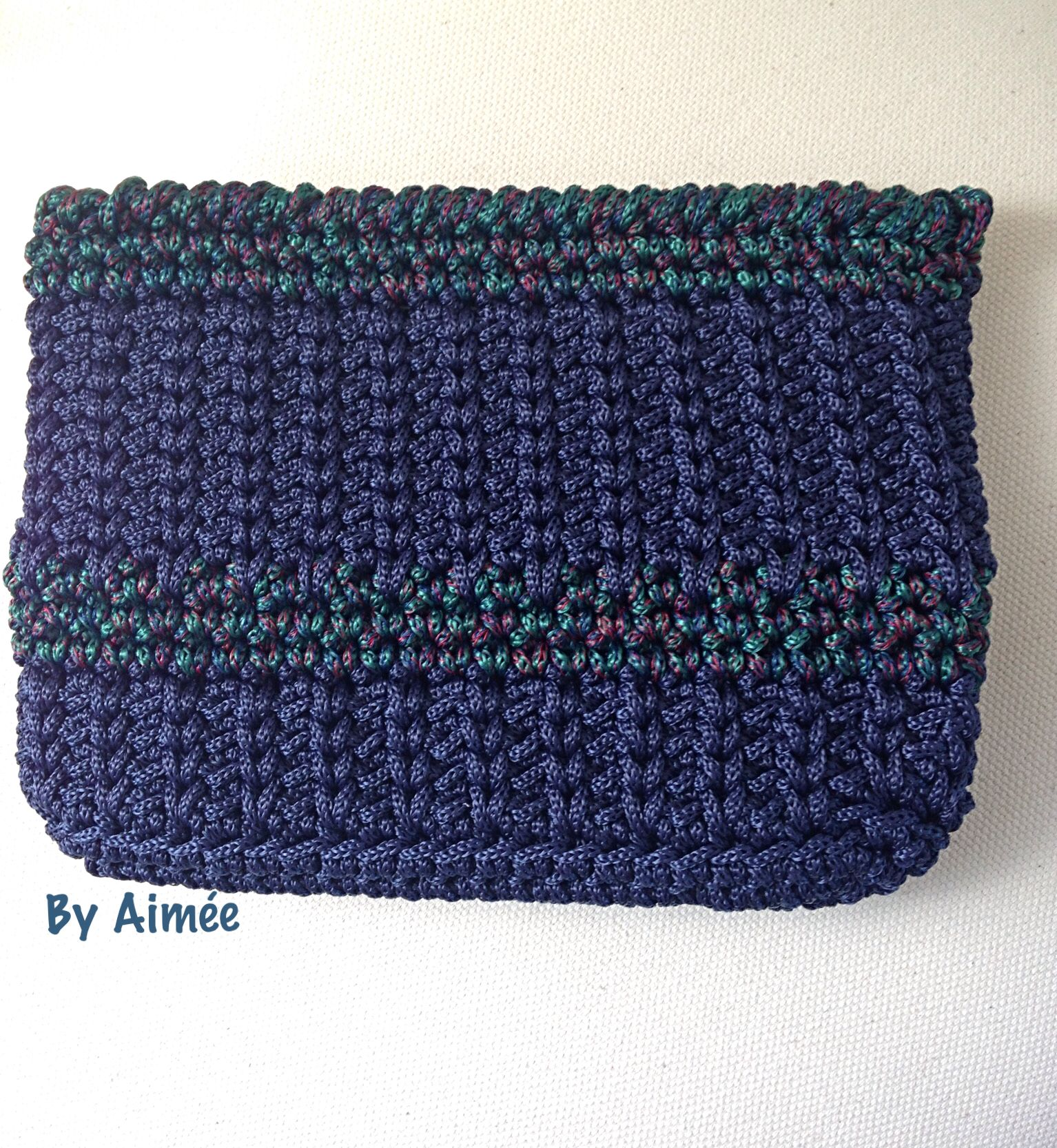 Crocheted Clutch bag