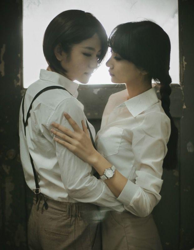 Lesbians hot japanese Japanese lesbian