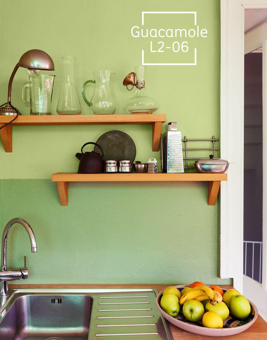 Una gran cocina merece un gran color cocinas cocinas for Colores paredes cocinas modernas