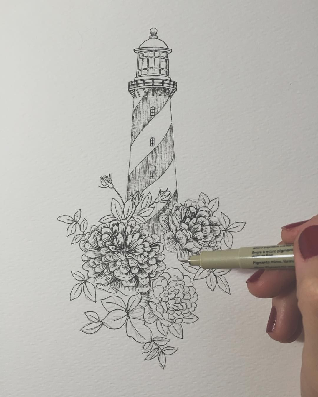 faros y crisantemos para tatuar… www.lalauri.com tengo todos los ...