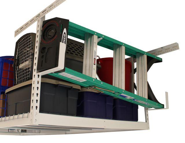 Utility Hook for Adjustable Overhead Garage Rack - Car Guy Garage