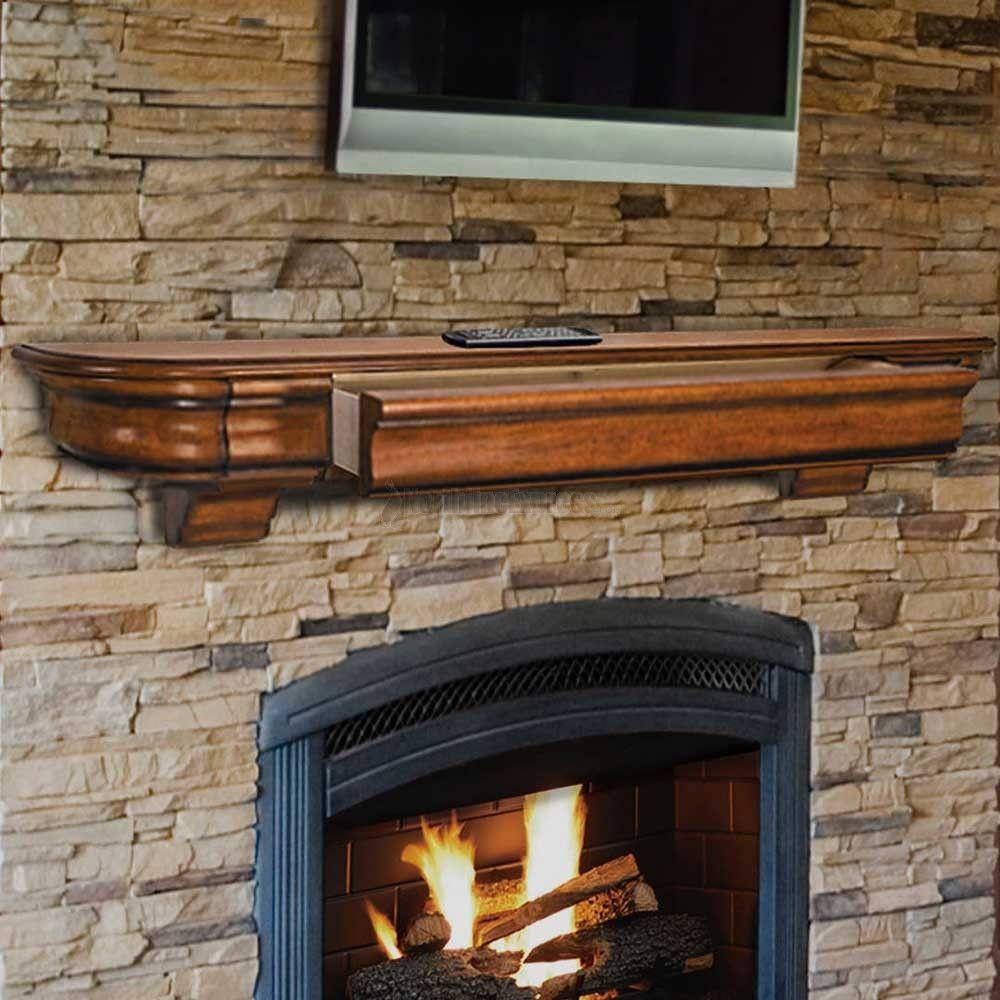 20++ Unfinished fireplace mantel ideas   LivingRoomReference