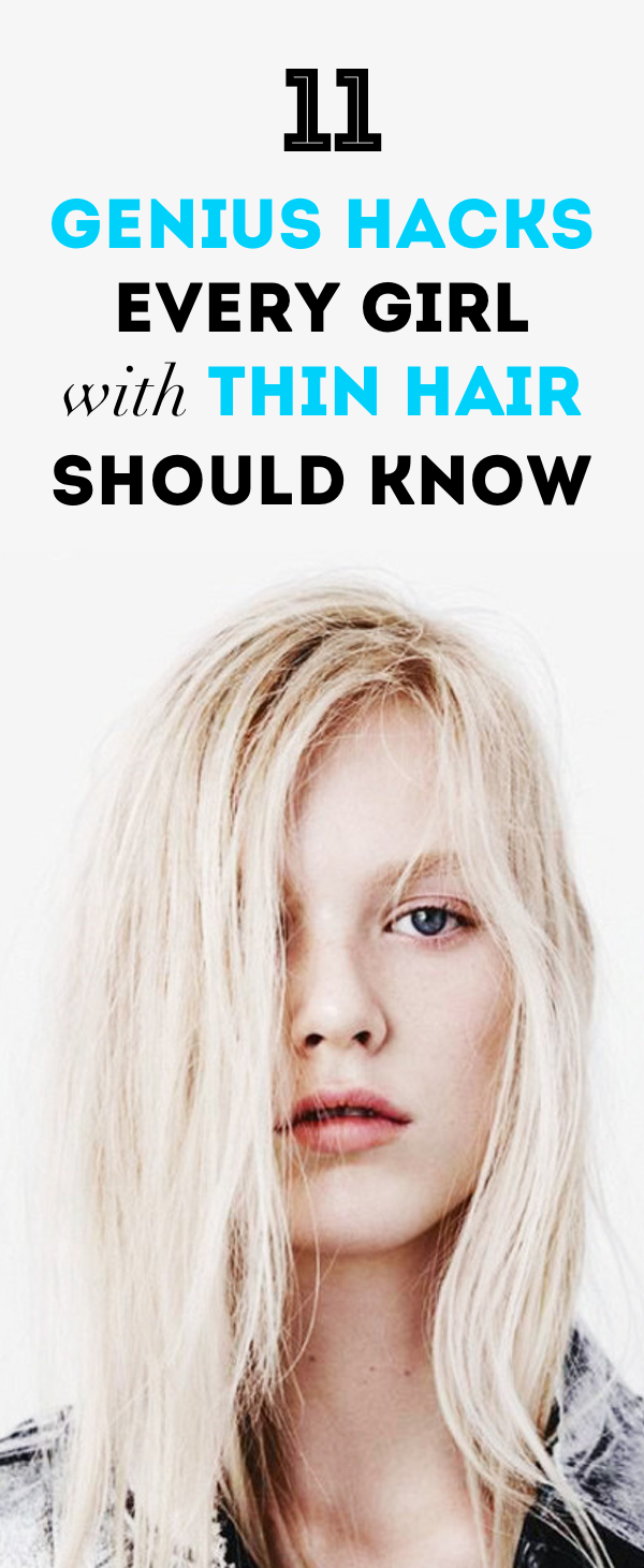 How to get thicker hair even if you have superthin strands in