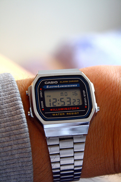 casio electroluminesence vintage digital watch asd. Black Bedroom Furniture Sets. Home Design Ideas