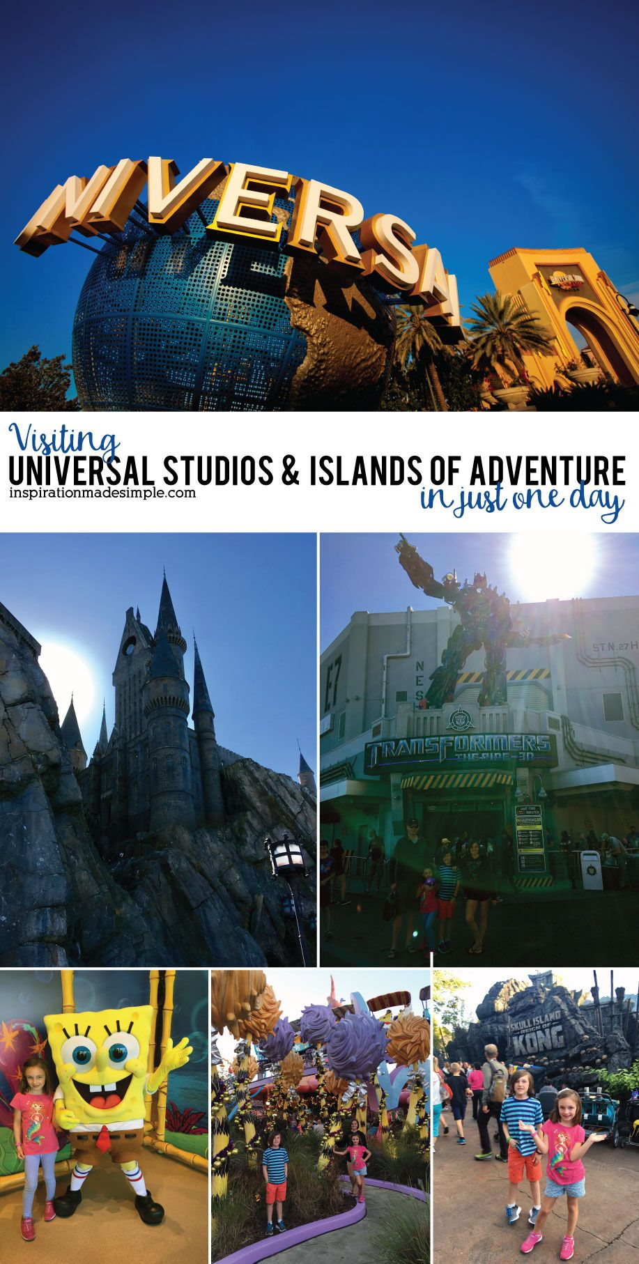 Tips and tricks to visiting Universal Studios and Islands of Adventure in just one day!