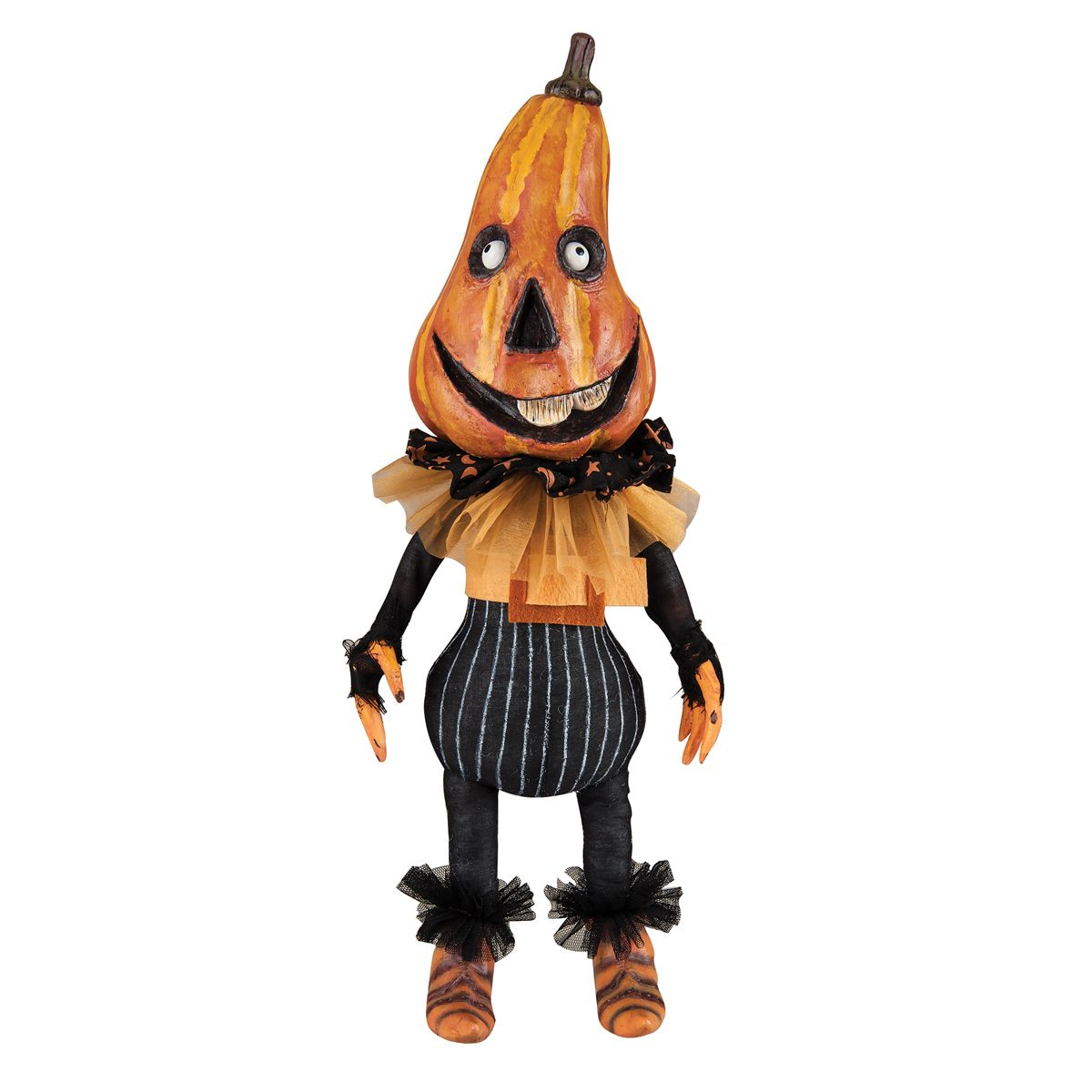 Dugan Pumpkin Head Figure By Margarita C Castillo