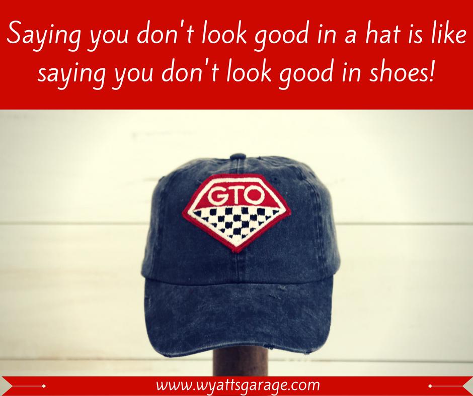 Wyattsgarage Wyattsgarage Cars Musclecars Pontiacgto Pontiac Gto Https Www Wyattsgarage Com Product Wg Distressed Hat Distressed Hat Hats Vintage Hats
