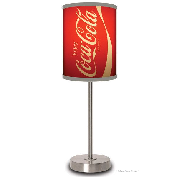 Iconic Coca-Cola ® Can Lamp | Home Decor | RetroPlanet.com | Geeked ...