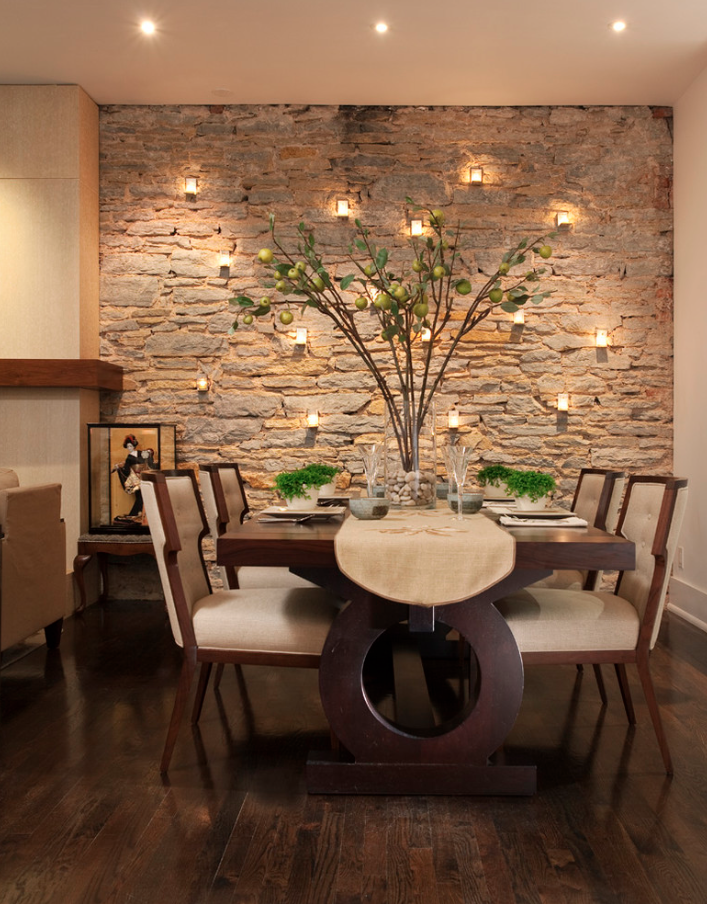 exotic natural stone accent wall My Favorite