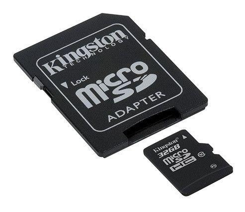 32GB microSDHC Class 10 Flash - Kingston - SDC10/32GB