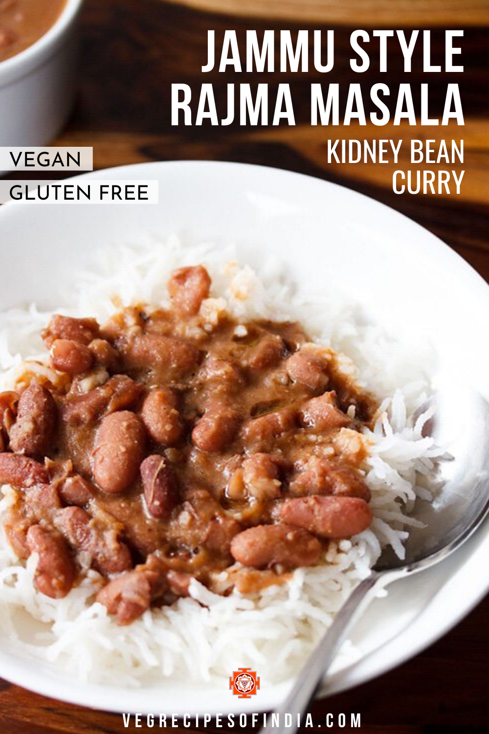 Jammu Style Red Kidney Bean Curry In 2020 Indian Food Recipes Vegetarian Recipes With Kidney Beans Vegetarian Cuisine