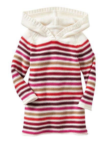 babyGap Multi-Color Striped Dress