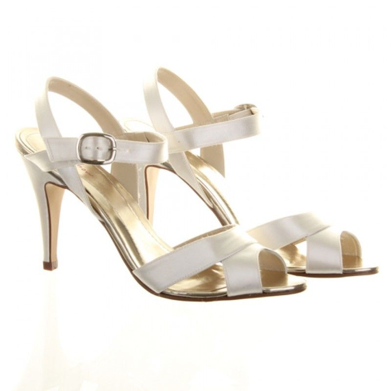 e015957961f3 Nigella - Summer weddings now have the perfect bridal sandal! Nigella by Rainbow  Club is a glorious high heel sandal in ivory satin that is not only the ...