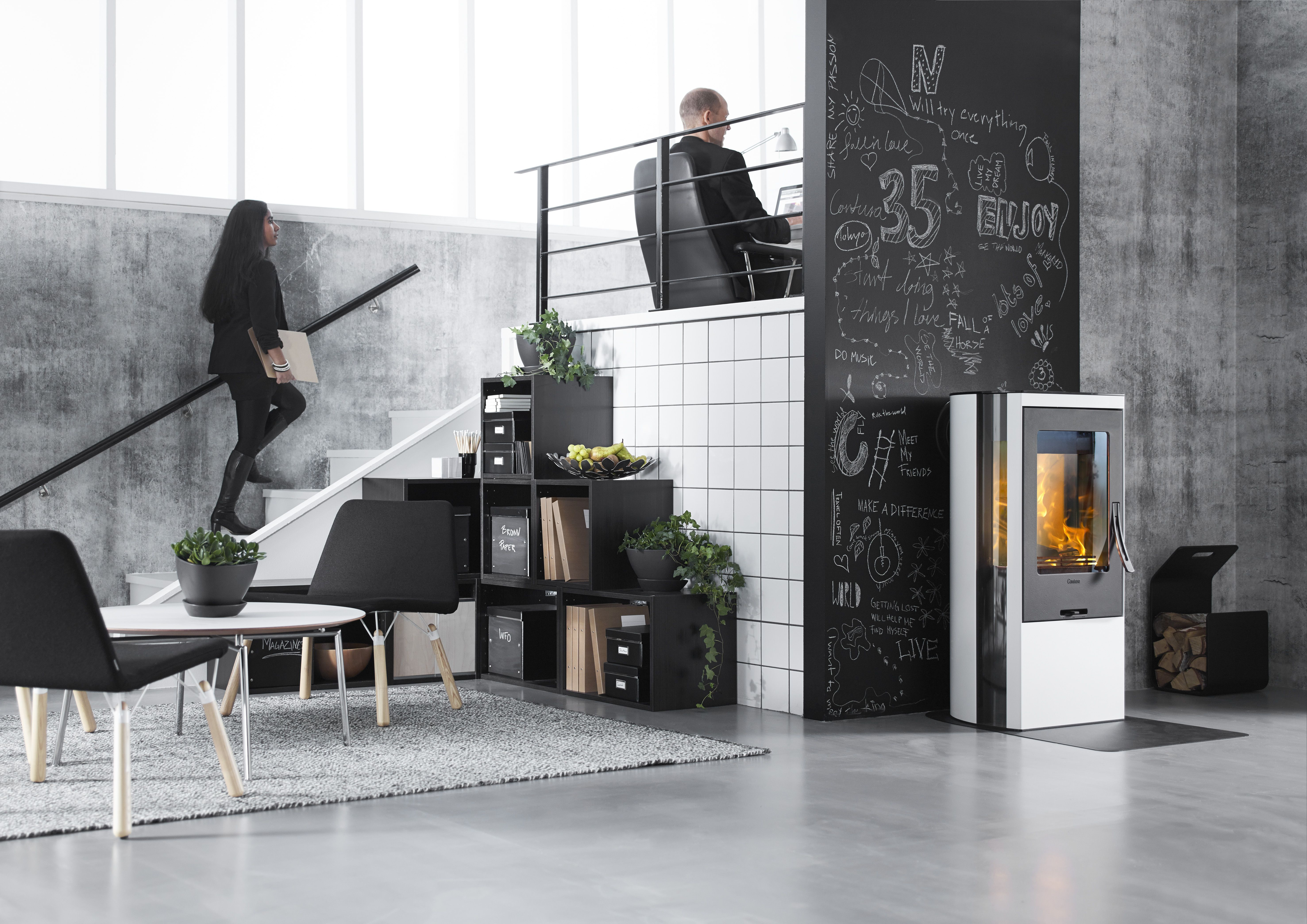 Peisovn Contura 35 lav  #woodstove #fireplace #ildsted #peisovn