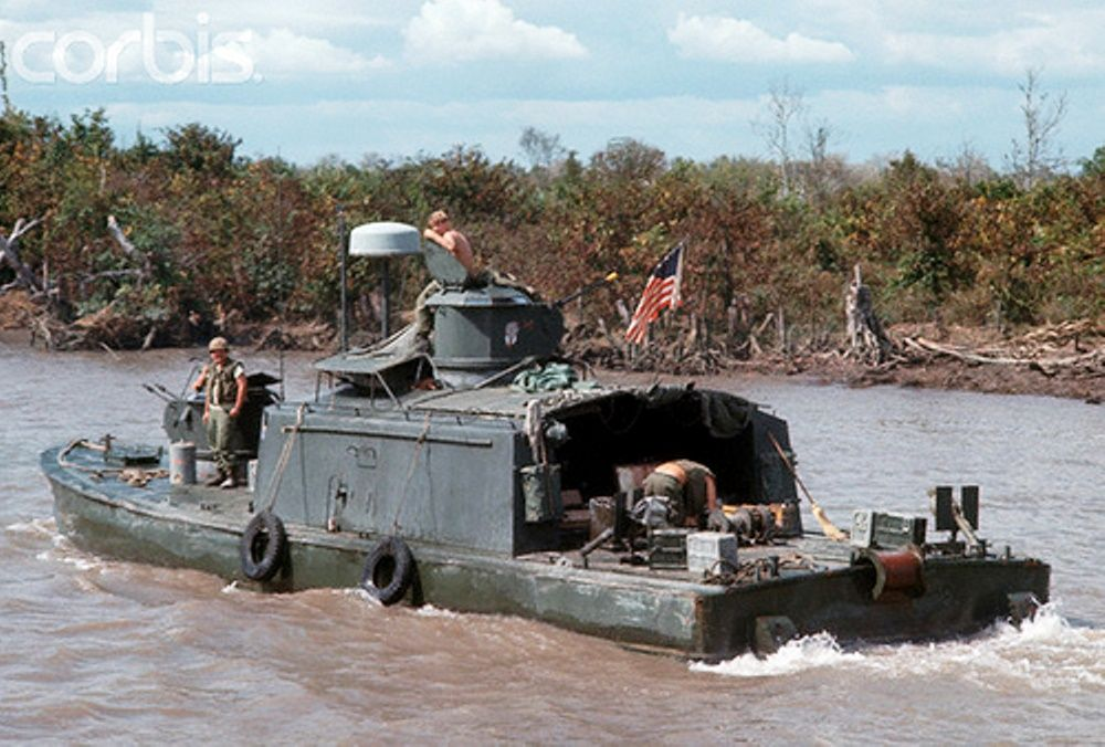 Armored Support Patrol Boat River Assault Squadron 1 River