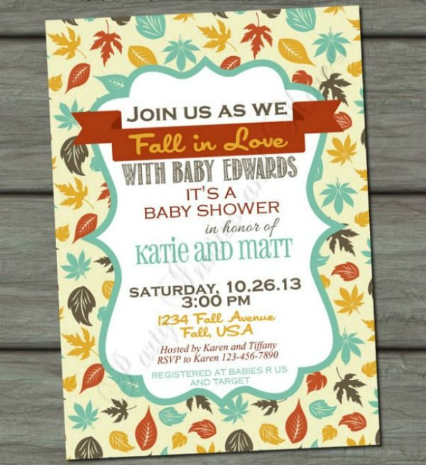 6 fabulous fall baby shower ideas adorable autumn themed 6 fabulous fall baby shower ideas adorable autumn themed invitations recipes dcor filmwisefo Choice Image