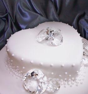 Diamond Anniversary Cake Anniversary Wedding Ideas Diamond