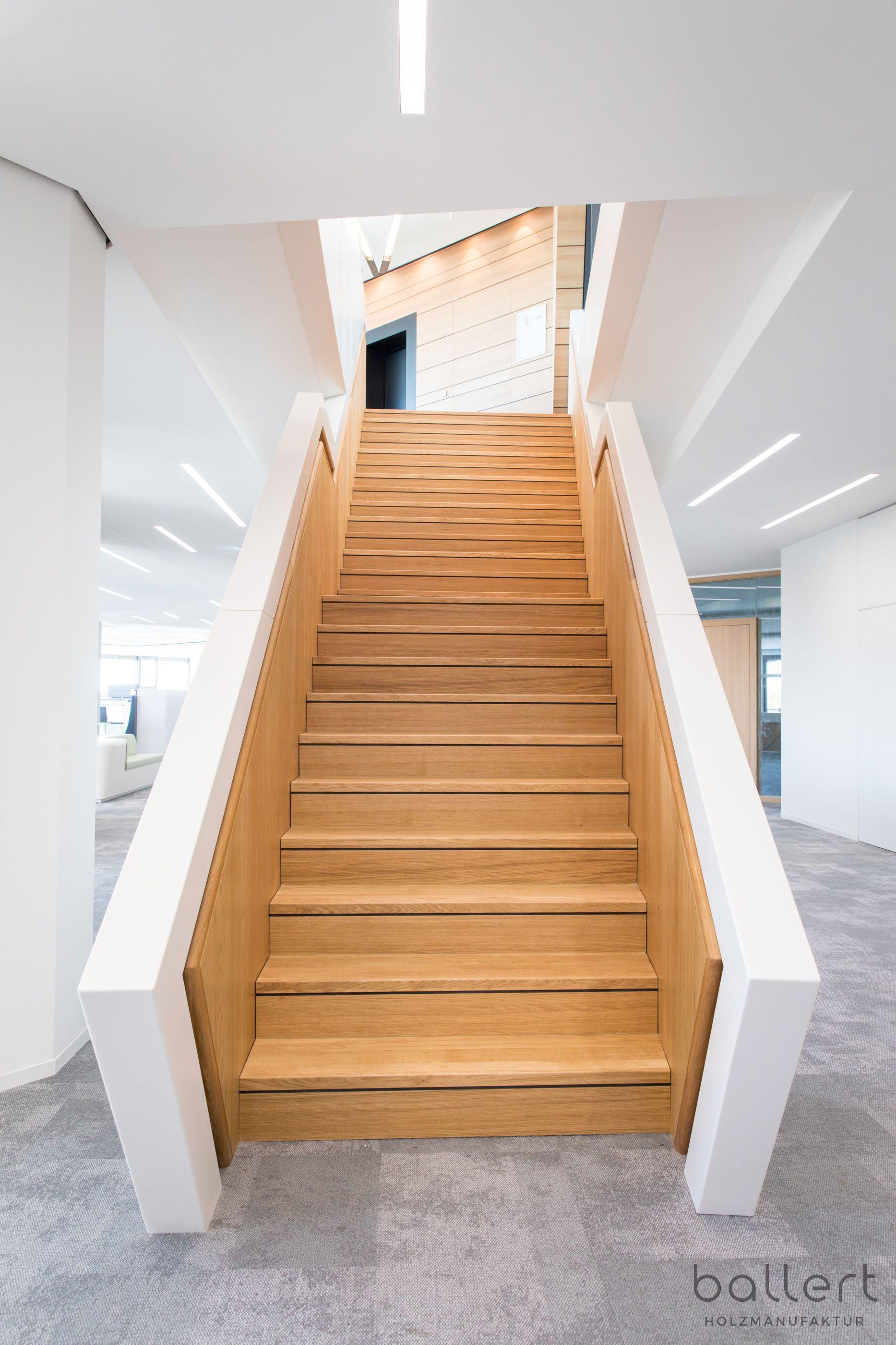 Gerade Treppe mit Zwischenpodest   Treppe, Außenverkleidung ...