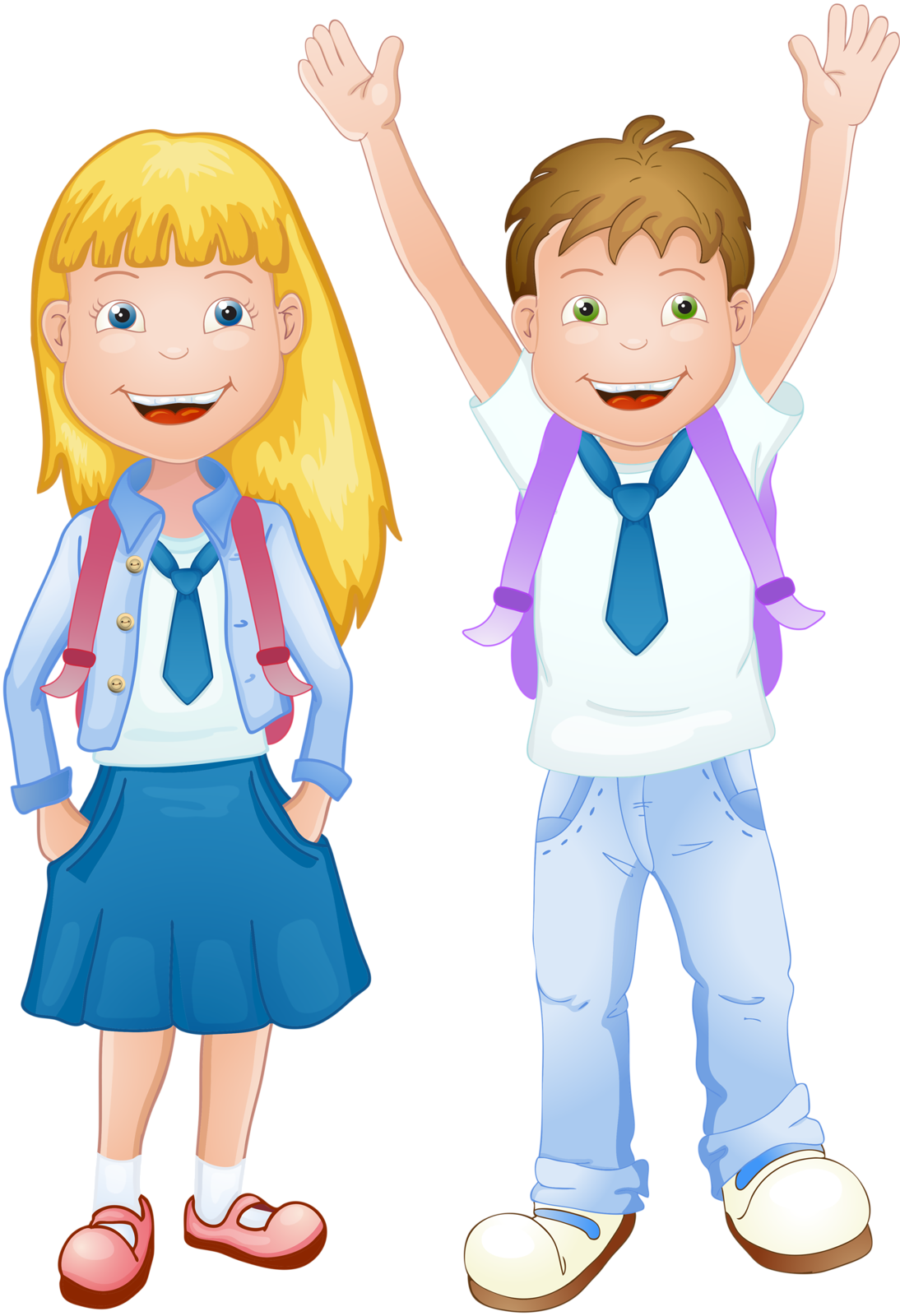Картинки школьной формы рисованные