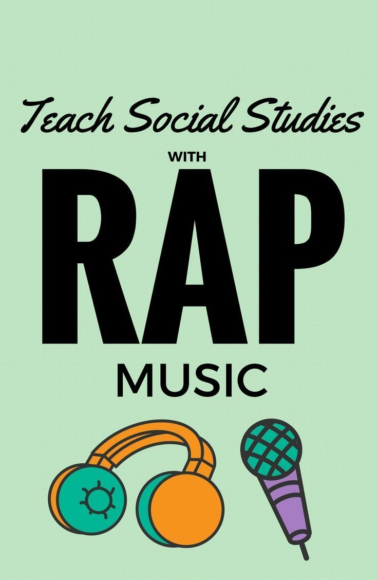 I love the idea of using music (especially rap music) in