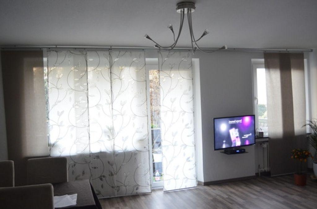 deko ideen gardinen wohnzimmer vorhnge wohnzimmer innere dekor ...
