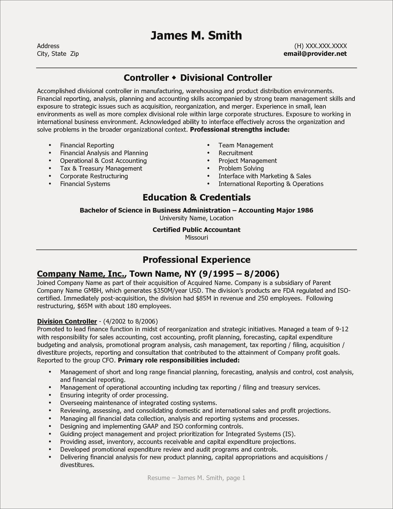 71 beautiful photos of resume examples for accounting managers
