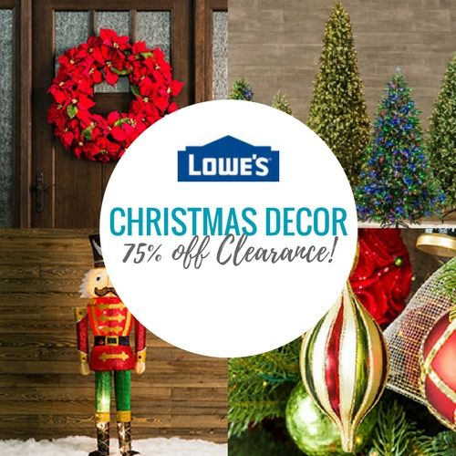 75 off Lowes Christmas Decorations! News Pinterest