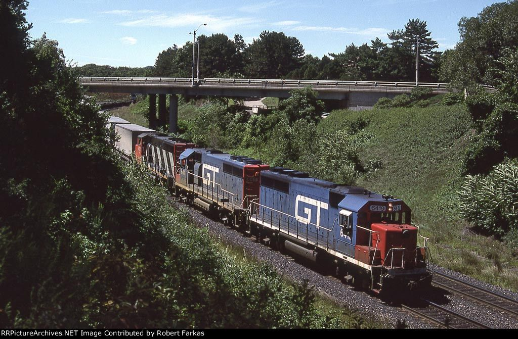 GTW 6419 GTW 6419 Date 8/11/1987 Location Burlington, ON