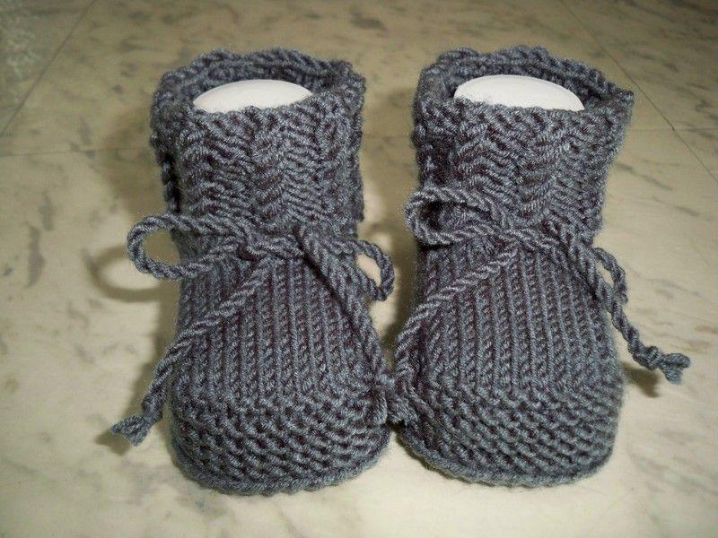 Photo of Gestrickte und gehäkelte Schuhe – Gestrickte warme Babyschuhe – ein Designerprodukt von …