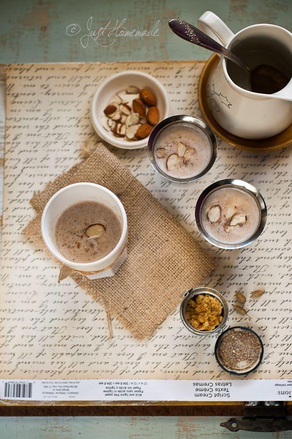ragi badam malt Almond recipes, Malt, Nutritious drink