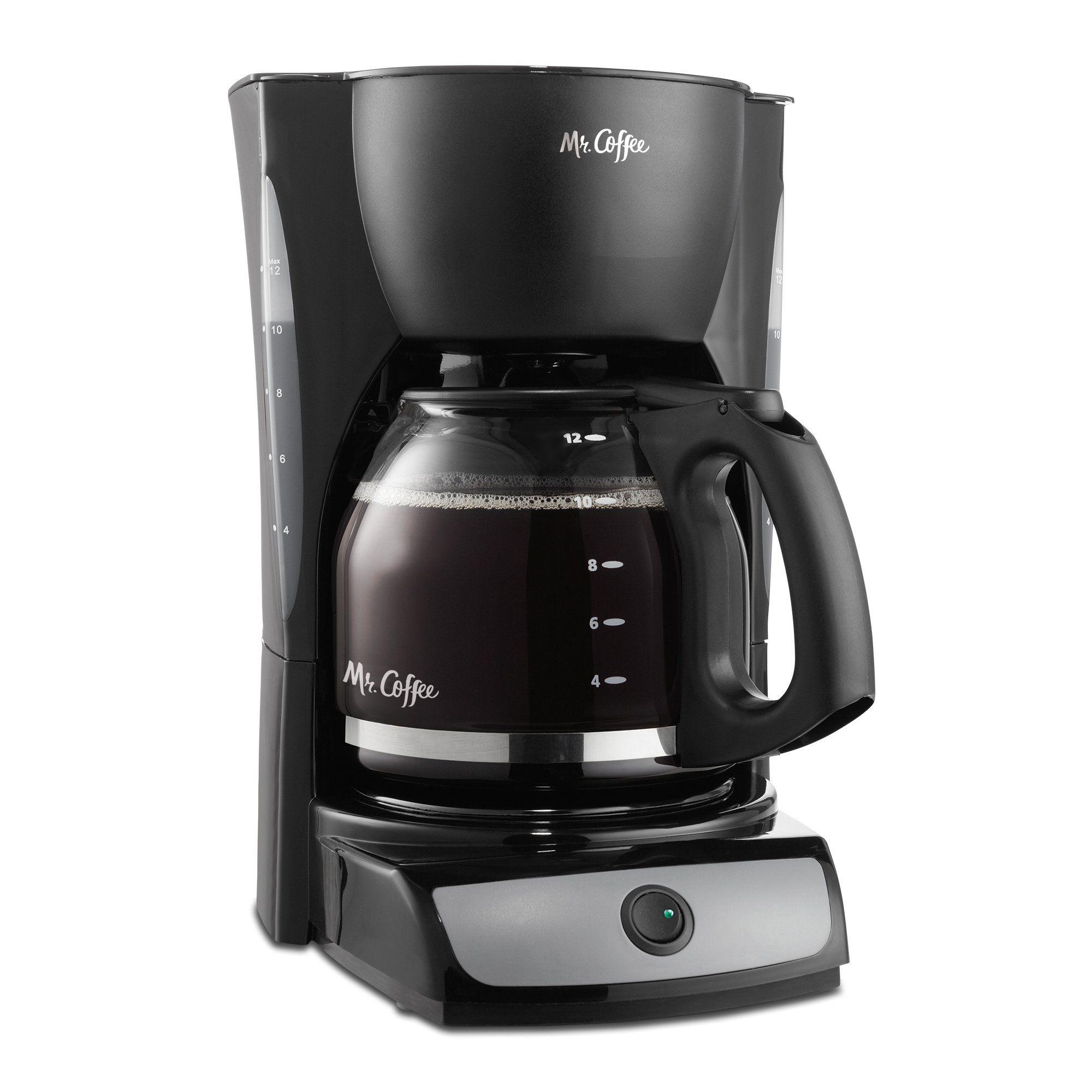 Mr. Coffee CG13 12Cup Switch Coffeemaker, Black Mr