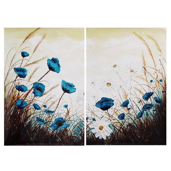 New Daisy Style Decorative Painting Canvas Painting No Frame Wall ...