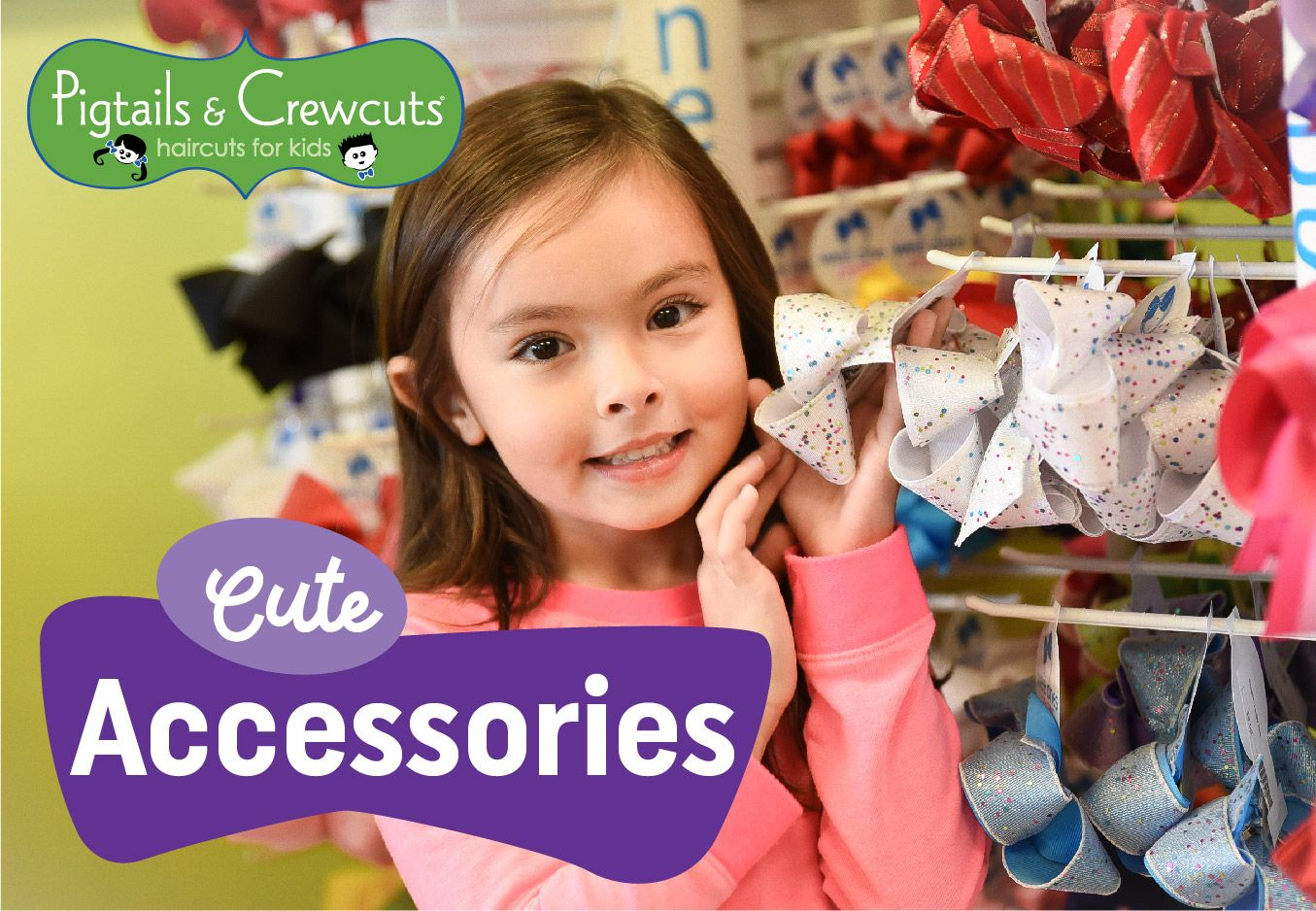 Pigtails u Crewcuts has cute accessories for your kidsu hair  Who