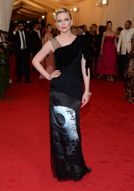 Kirsten Dunst at Met Gala