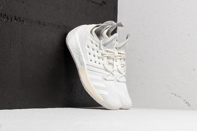 Men/'s Adidas Harden Vol 2 Basketball Shoe Grey One//Cloud White