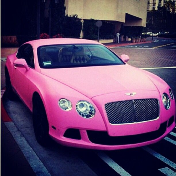 One For The Ladies Bentley Continental Gt Pink