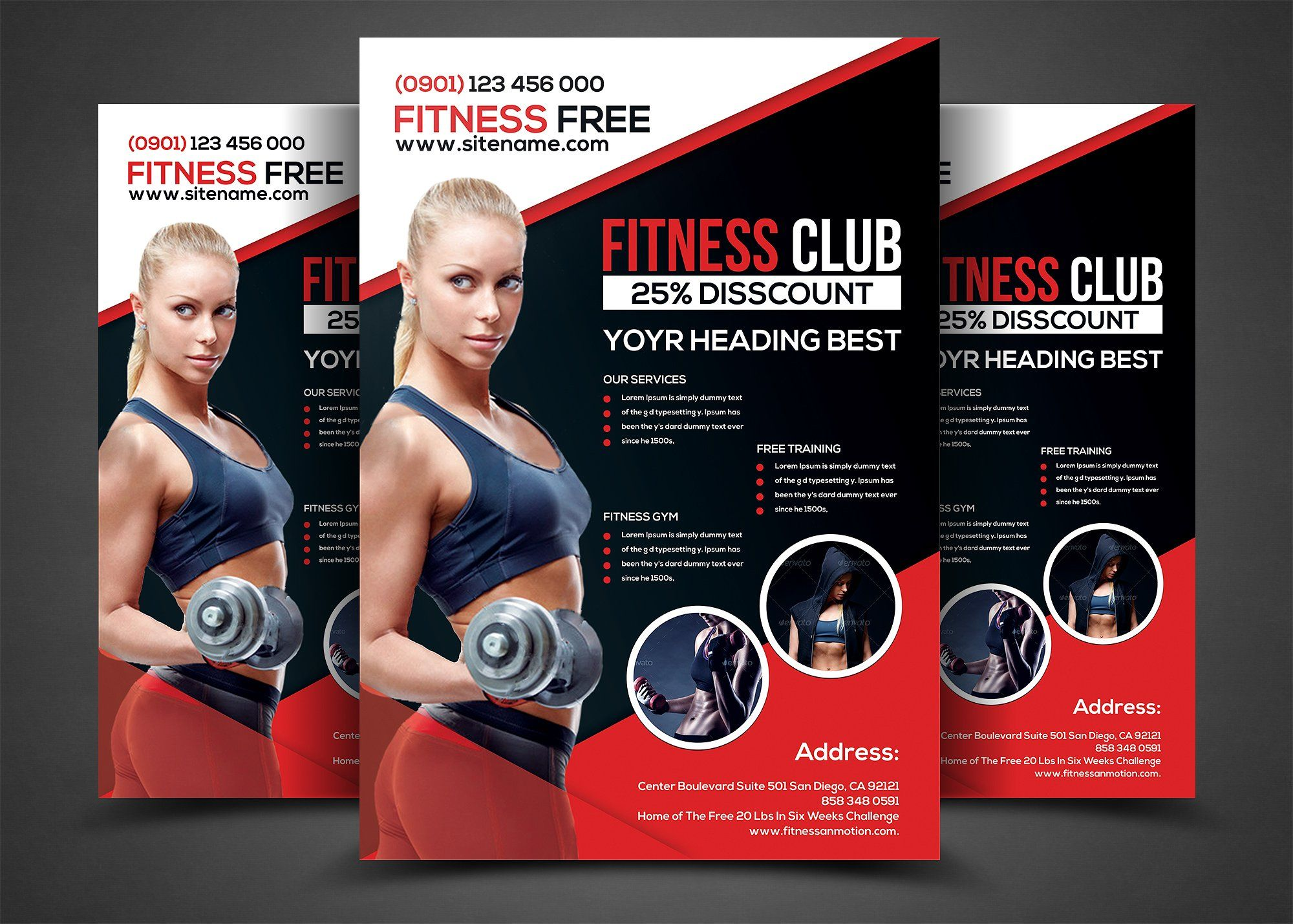 Fieldstation.co  Free Fitness Flyer Templates