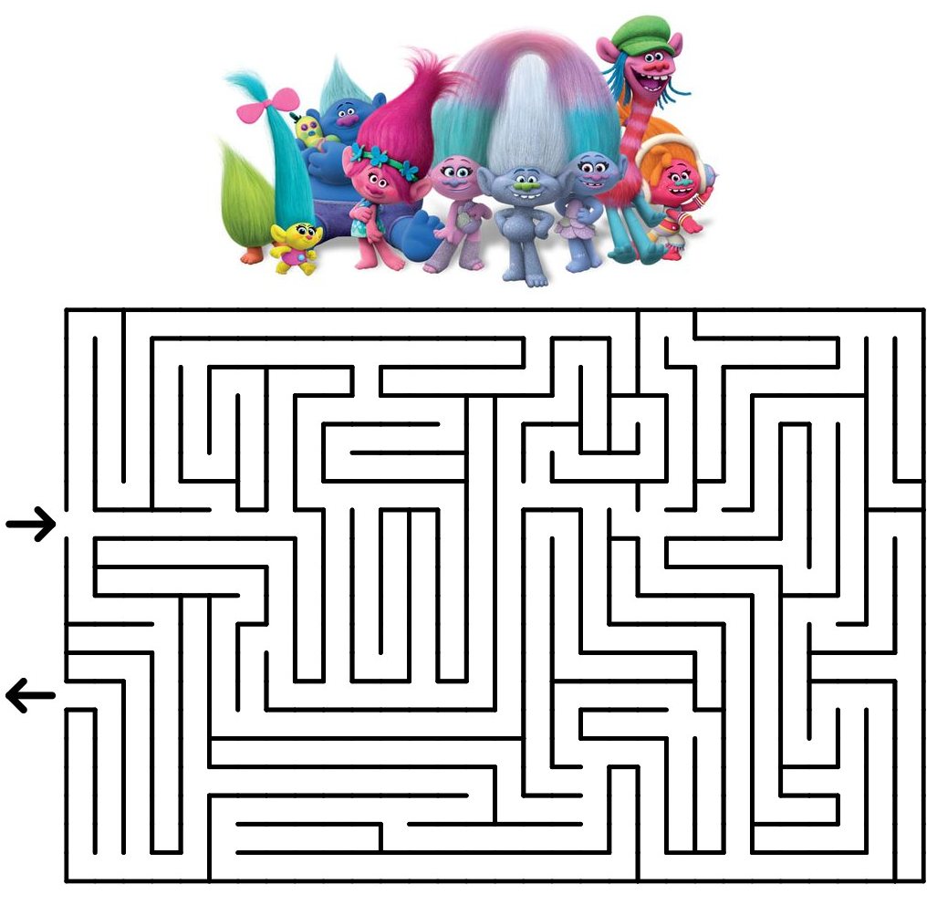 Summer Free Printables Mazes